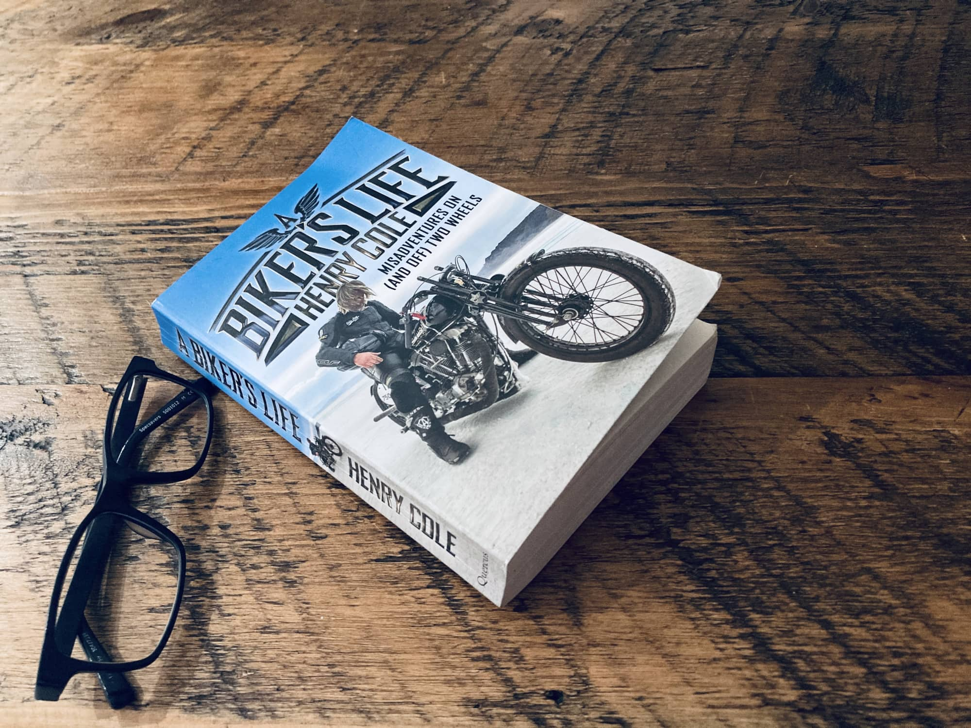 "Book cover of ""A Biker's Life"" by Henry Cole"